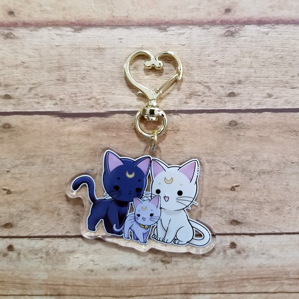 Sailor Moon Kitty Family Charm