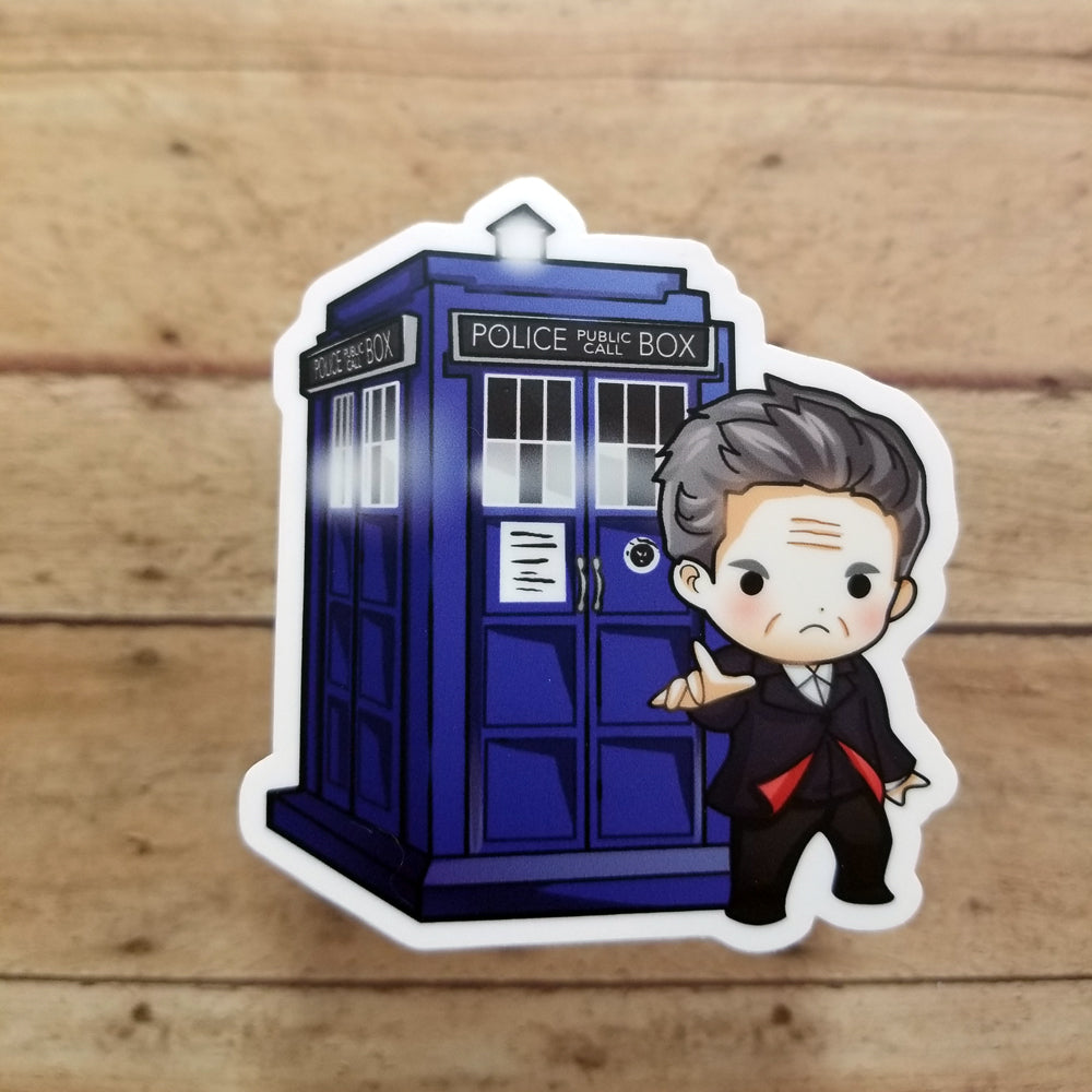 12th Doctor Vinyl Decal
