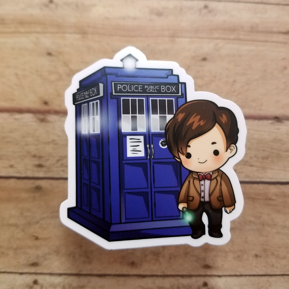 11th Doctor Vinyl Decal