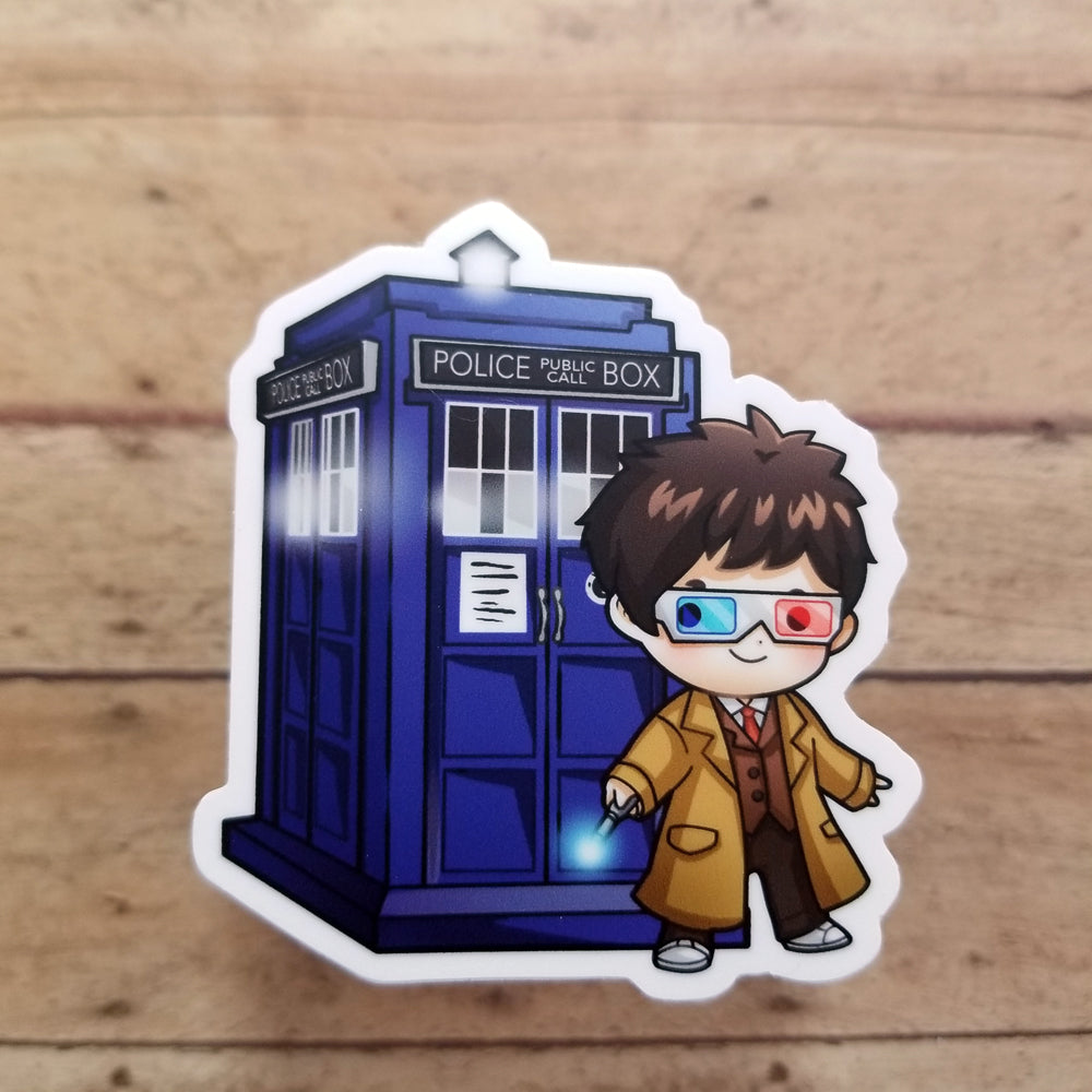 10th Doctor Vinyl Decal