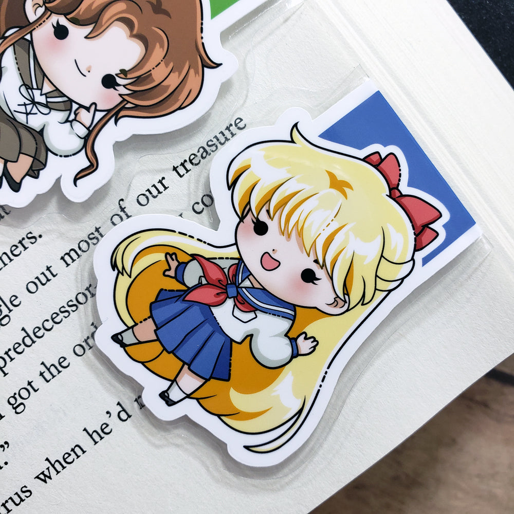 Sailor Moon (set 2) Magnetic Bookmarks