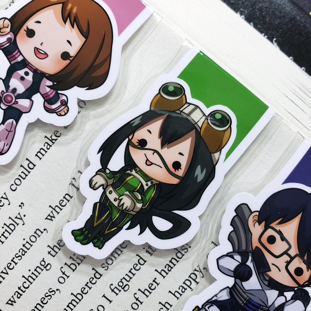 BNHA (set 2) Magnetic Bookmarks