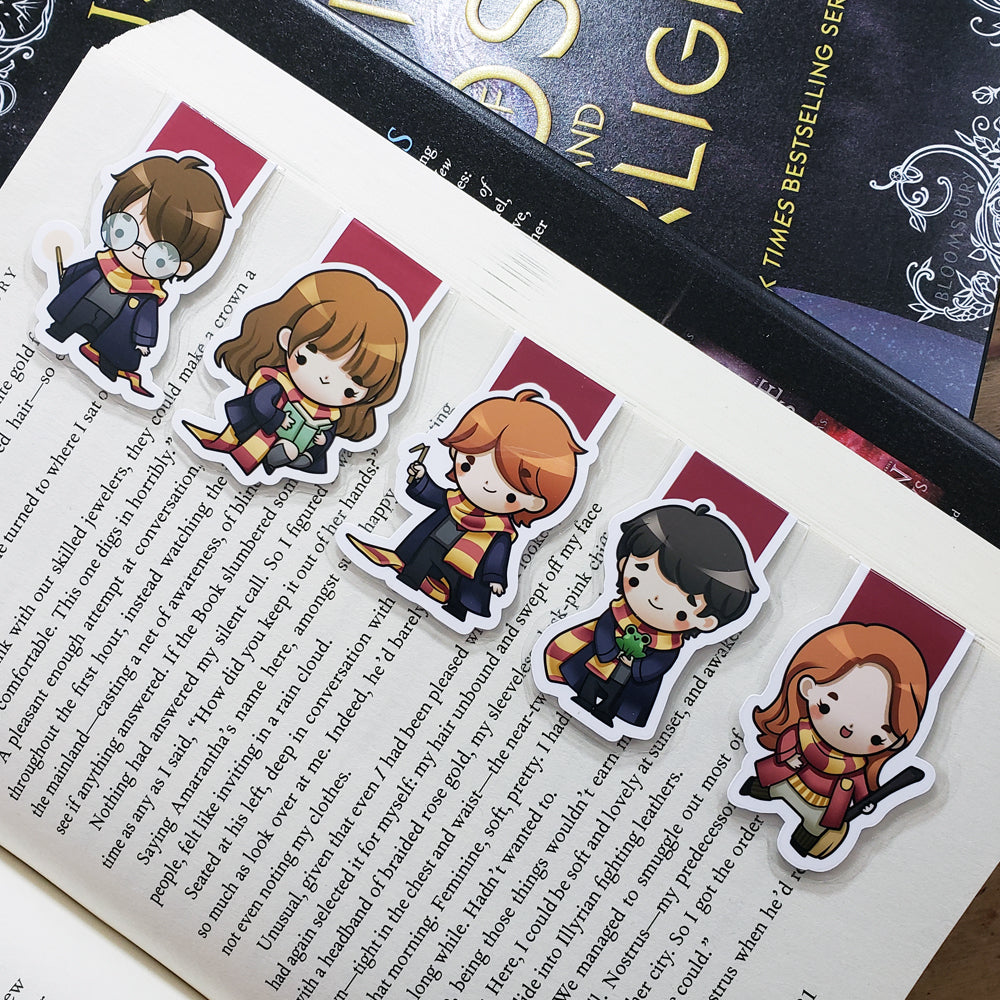 Wizards (set 1) Magnetic Bookmarks