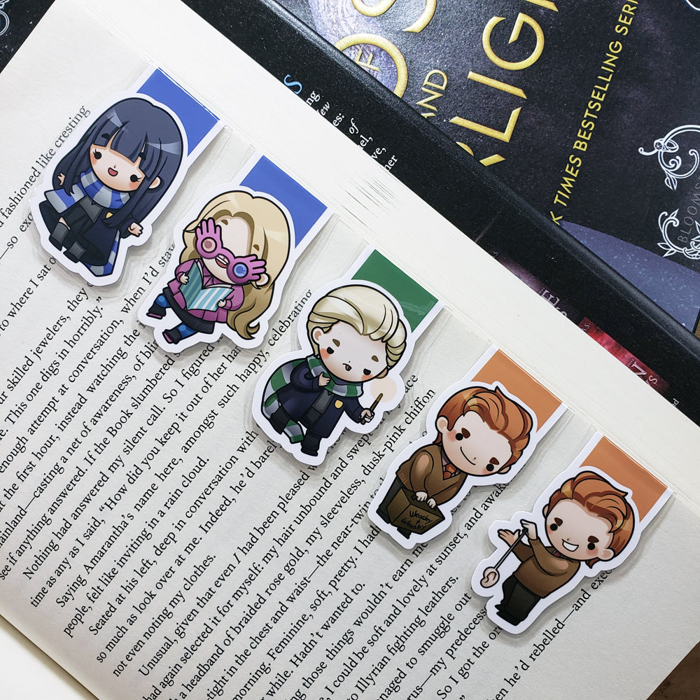 Wizards (set 2) Magnetic Bookmarks