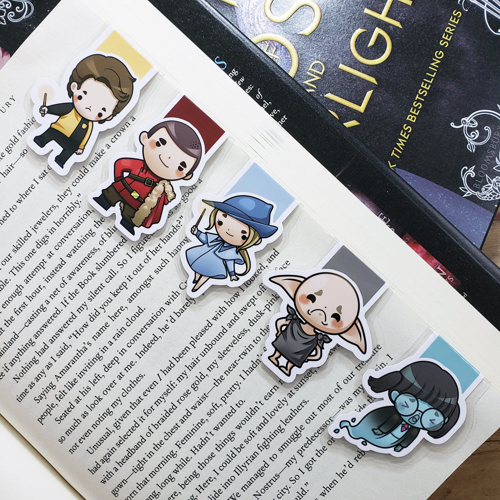 Wizards (set 3) Magnetic Bookmarks