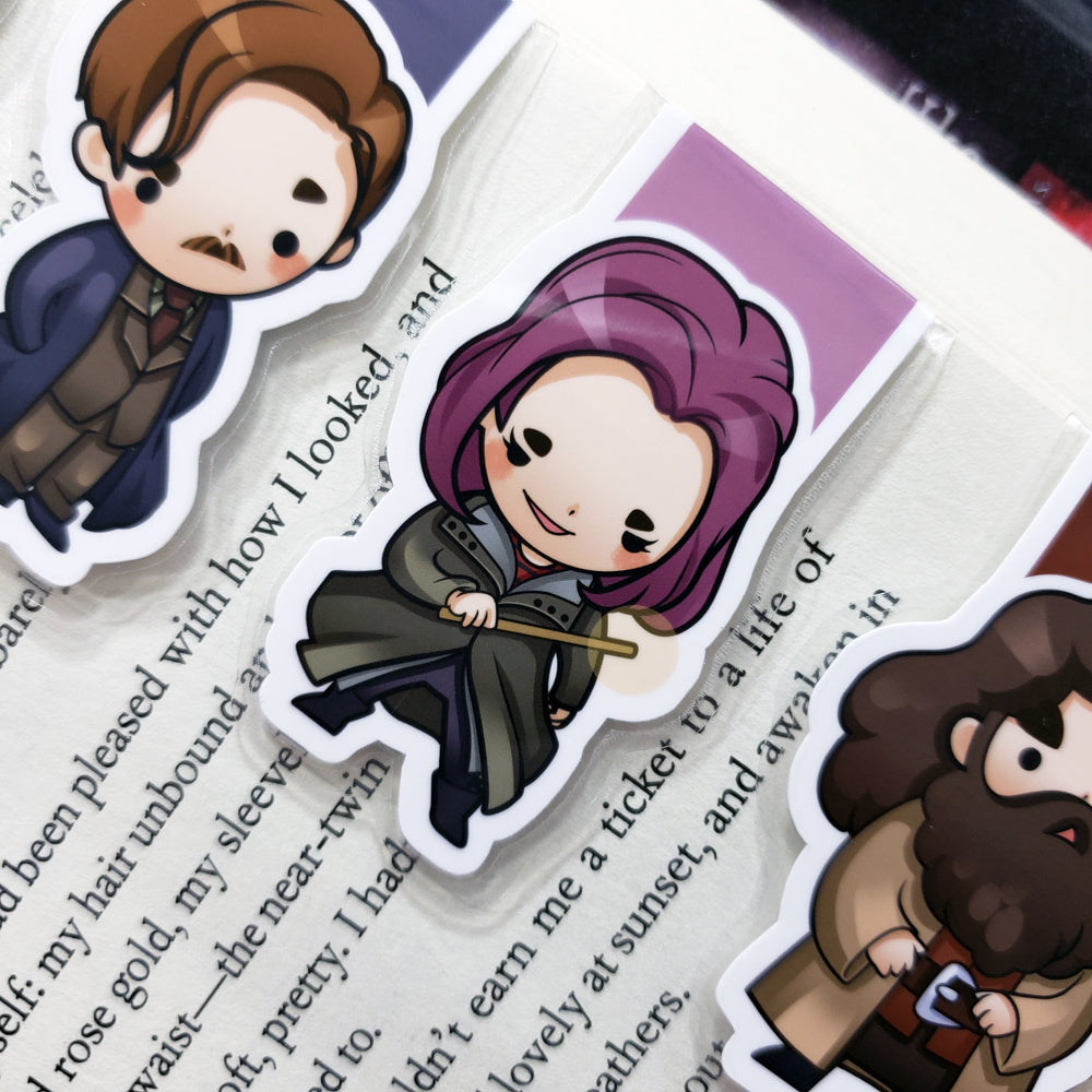 Wizards (set 4) Magnetic Bookmarks