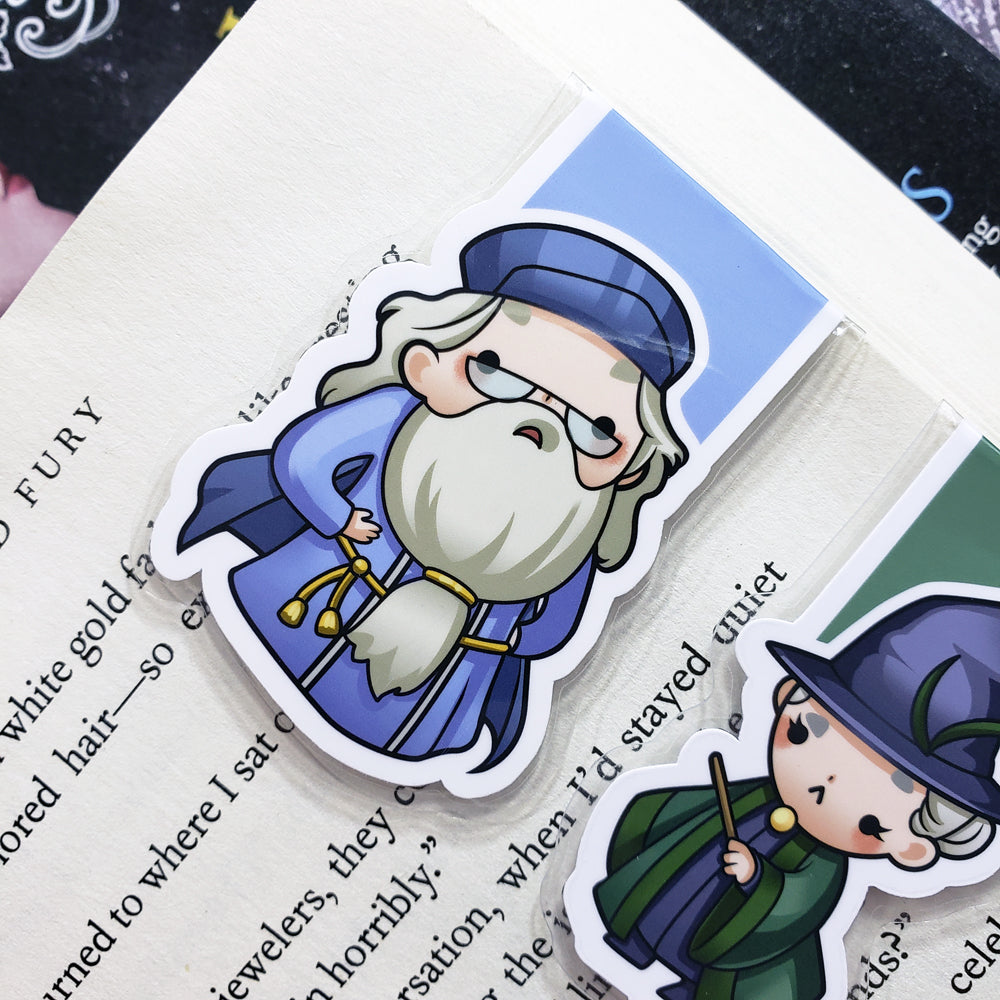 Wizards (set 5) Magnetic Bookmarks