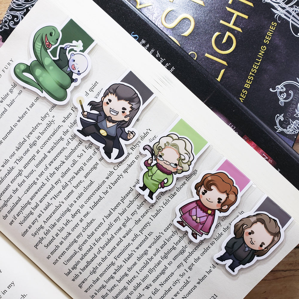 Wizards (set 9) Magnetic Bookmarks