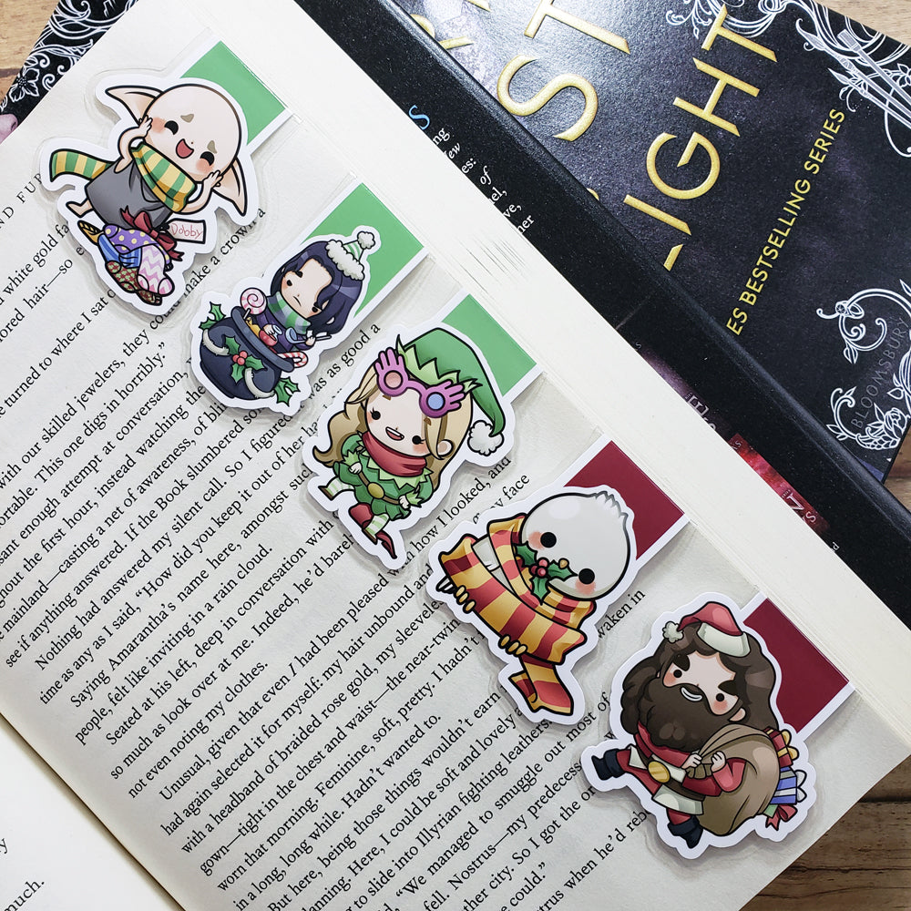 Wizards (set 11) Magnetic Bookmarks
