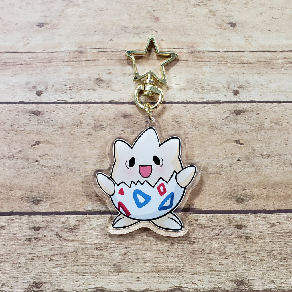 Baby Egg Monster Charm