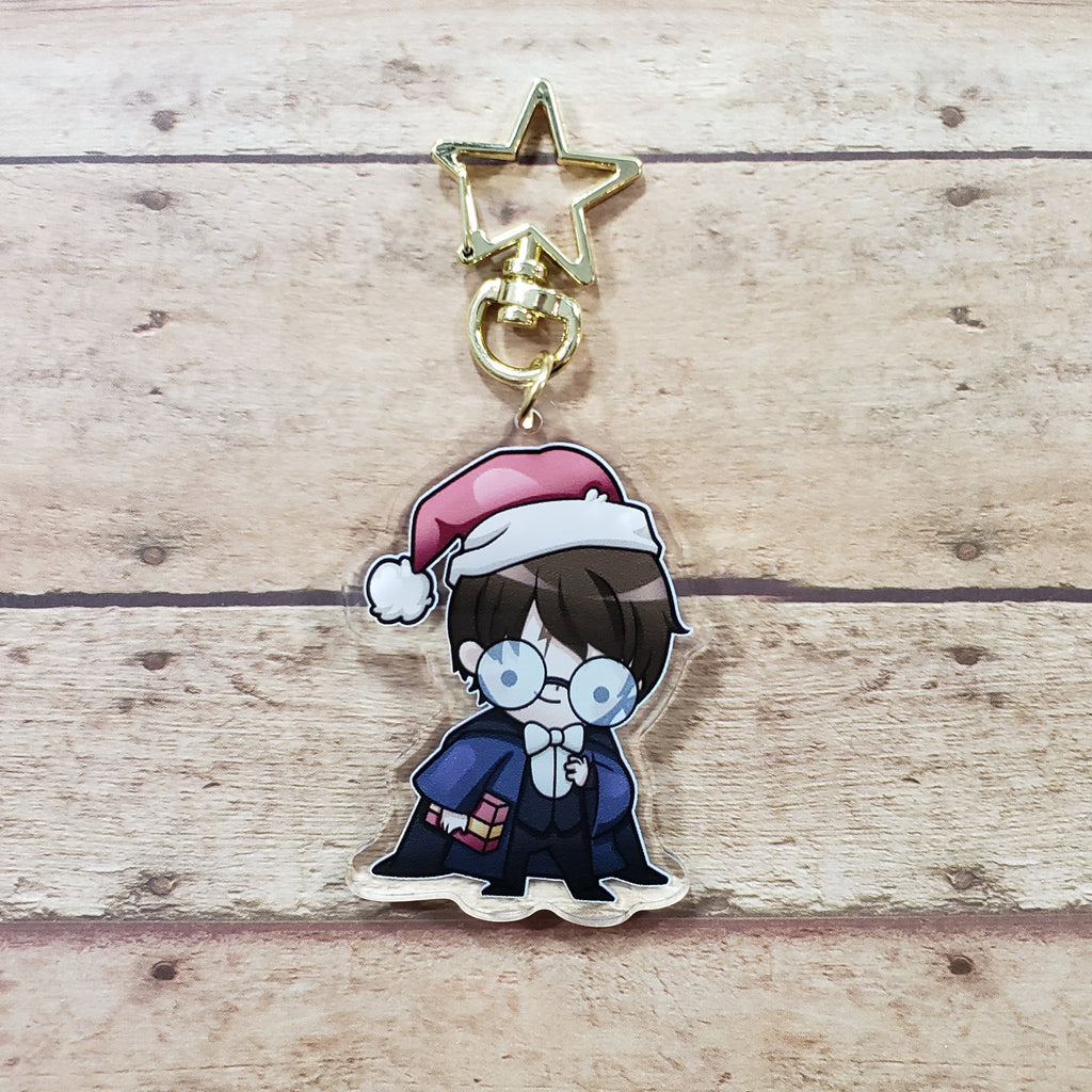 Wizard Christmas Harry Charm