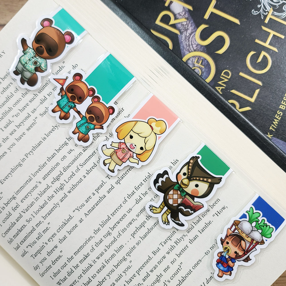 Animal Game (set 1) Magnetic Bookmarks