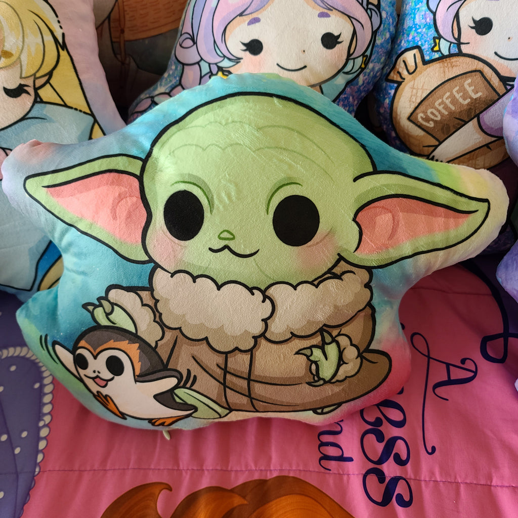 Alien Baby Pillow