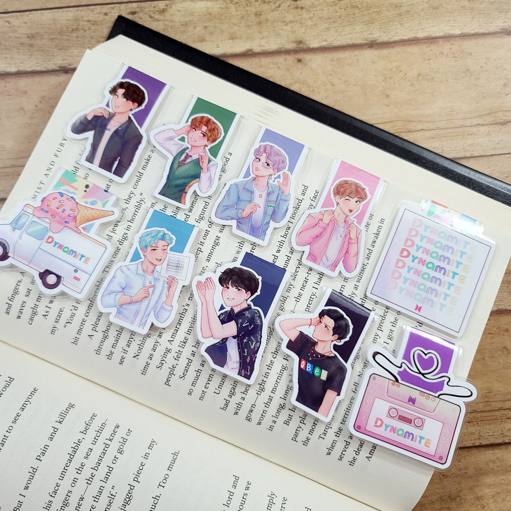 Dynamite Magnetic Bookmarks