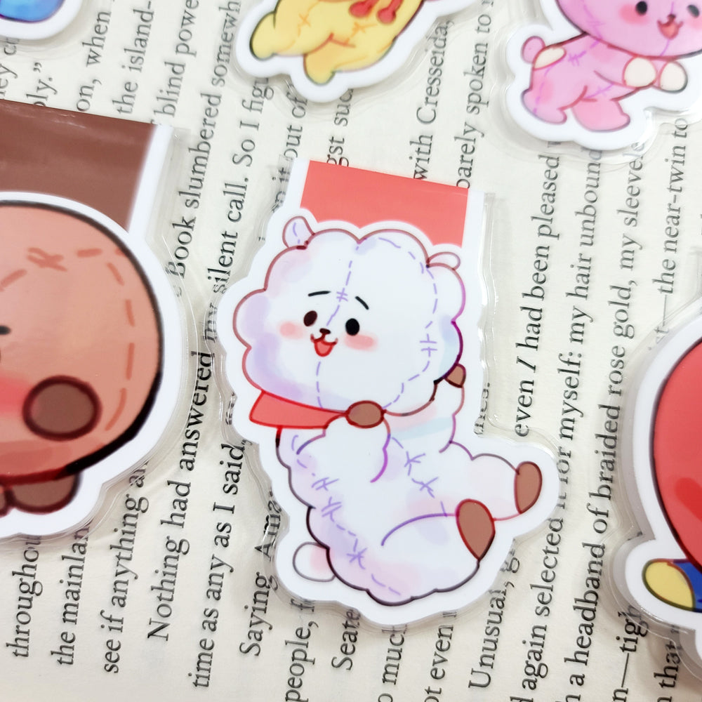 KPop Animals Magnetic Bookmarks