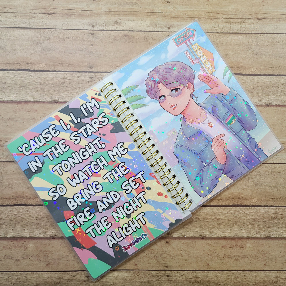 Dynamite JM Reusable Sticker Book