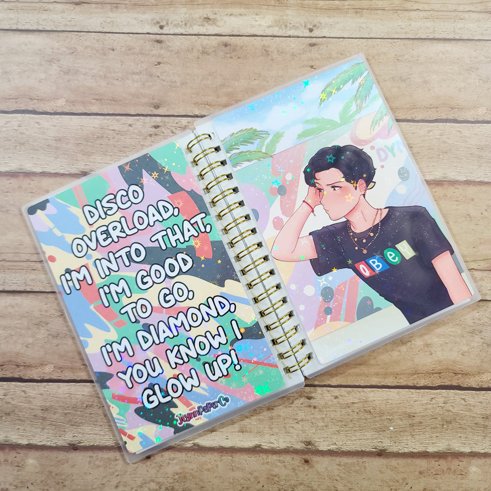 Dynamite JH Reusable Sticker Book