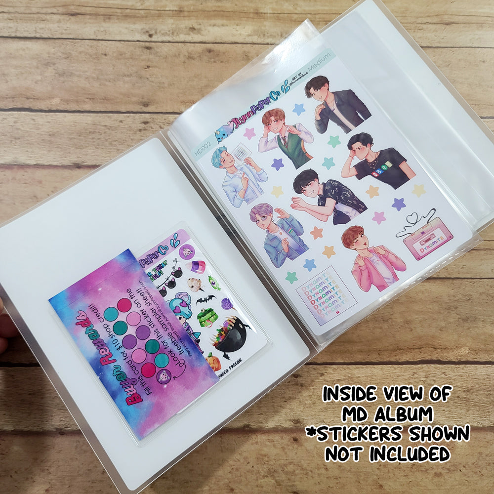 Dynamite SG Sticker Album