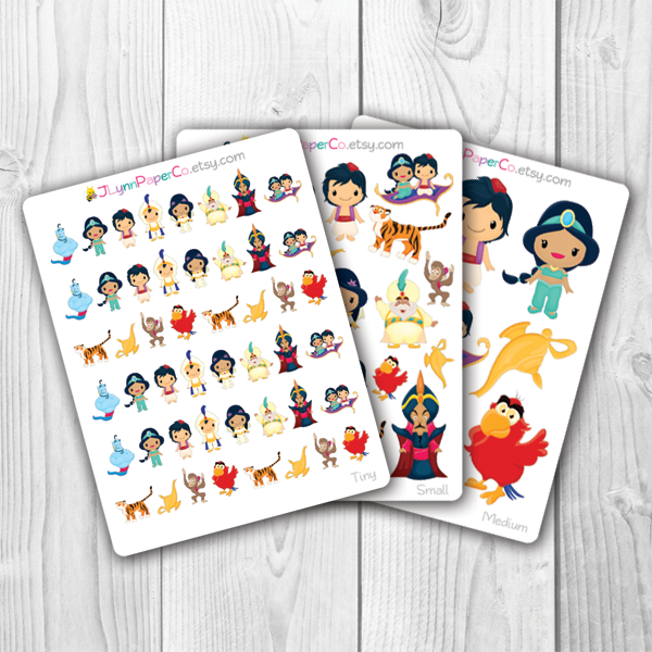 Magic Carpet Character Stickers