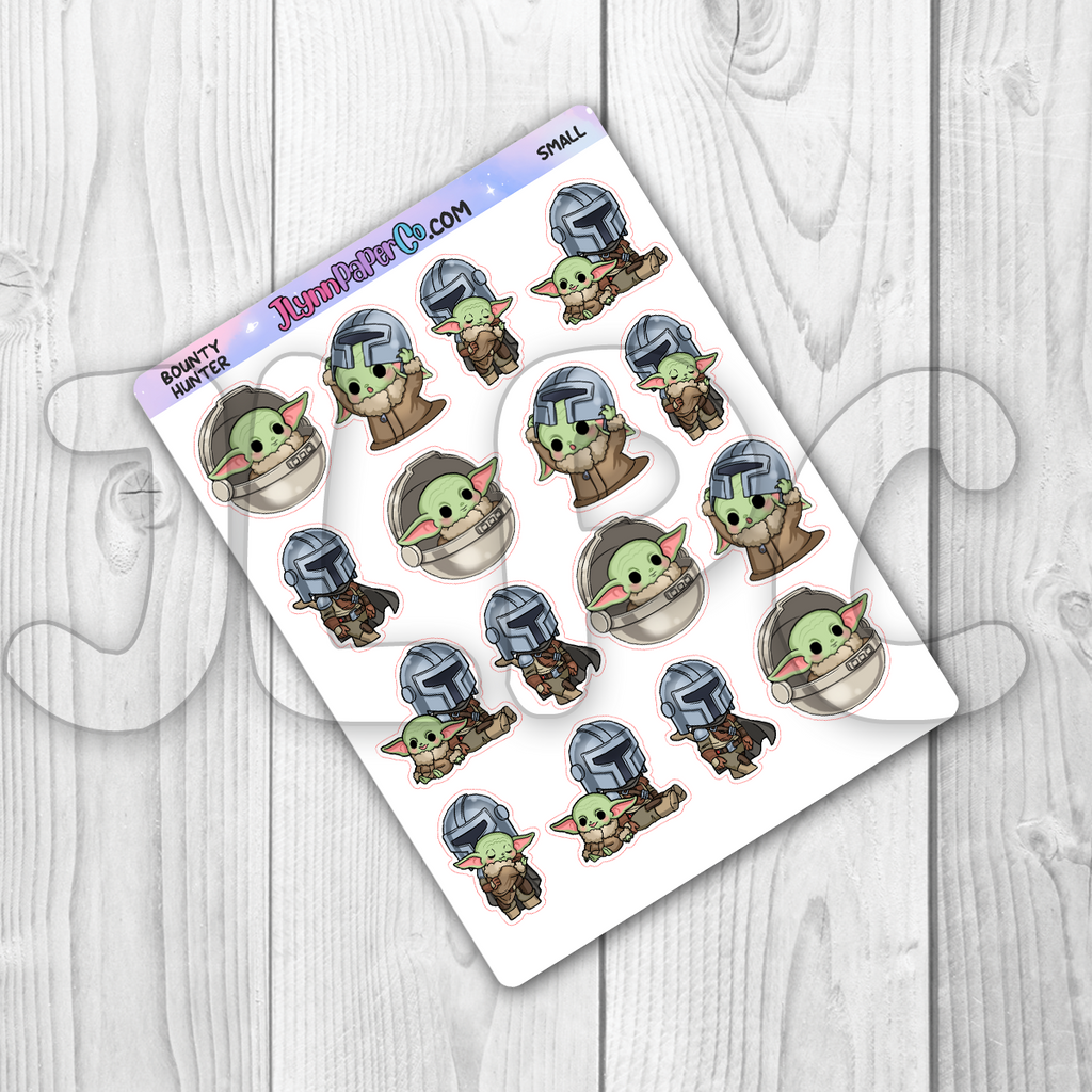 Bounty Hunter Character Stickers
