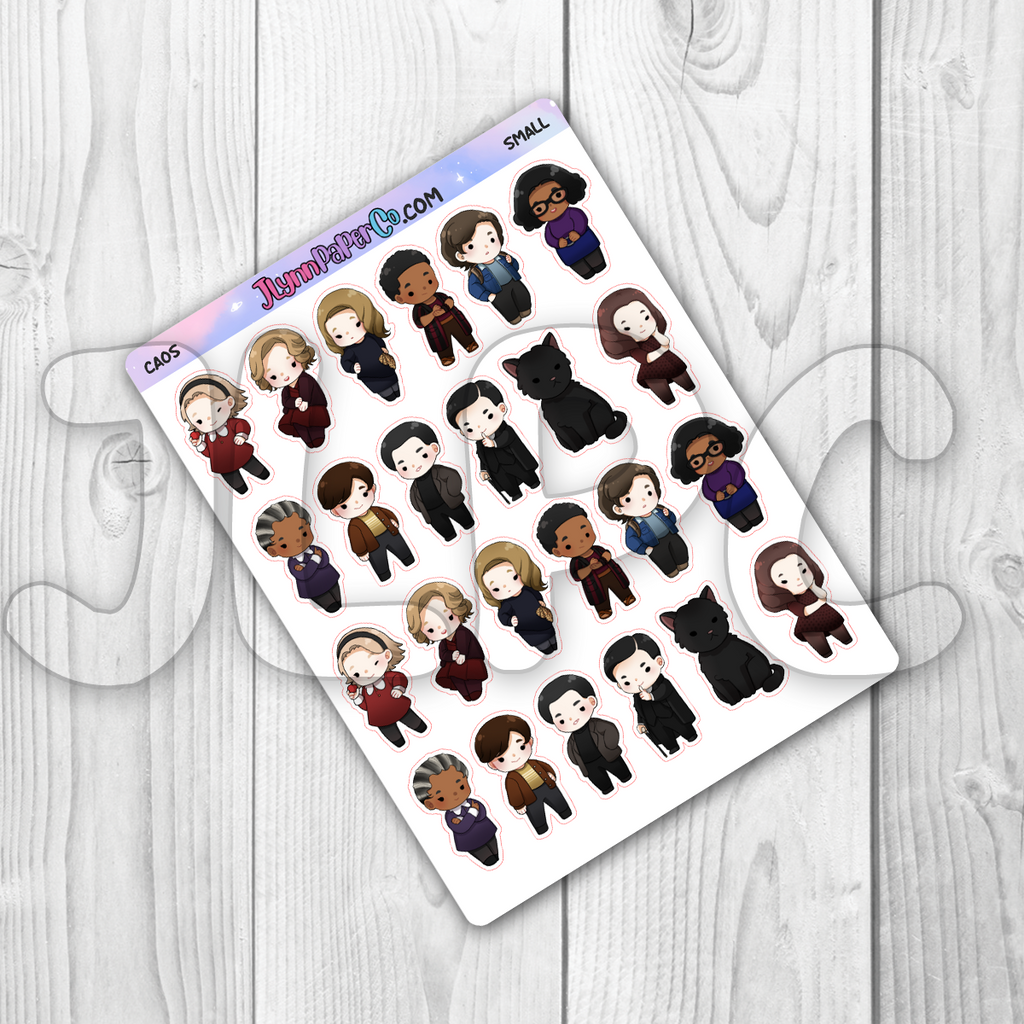 CAOS Character Stickers