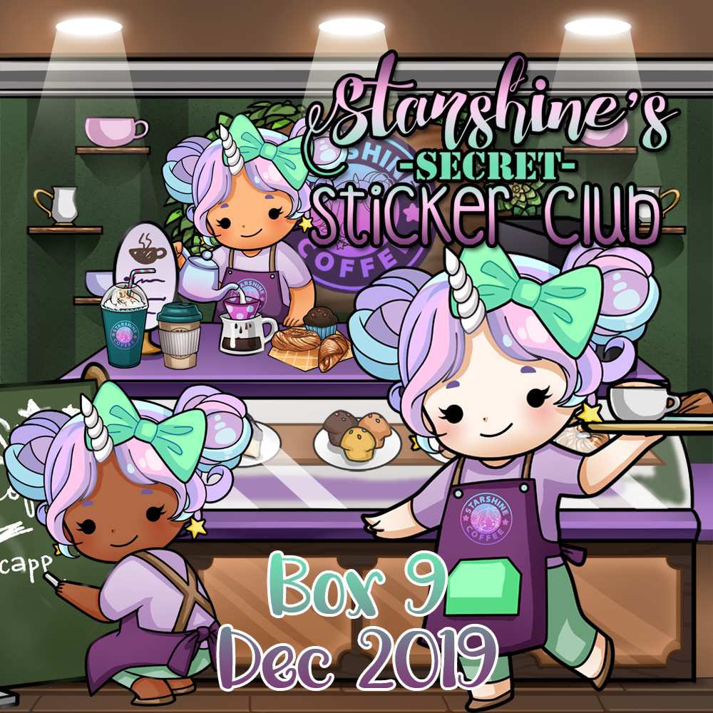 Pre-Order: Sticker Club Box 9