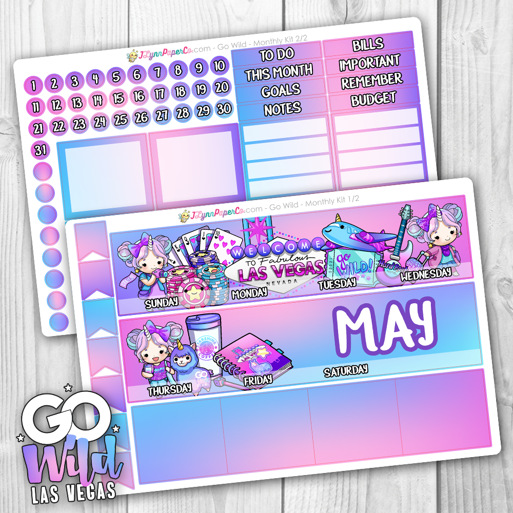 Go Wild Las Vegas Starshine MONTHLY Kit