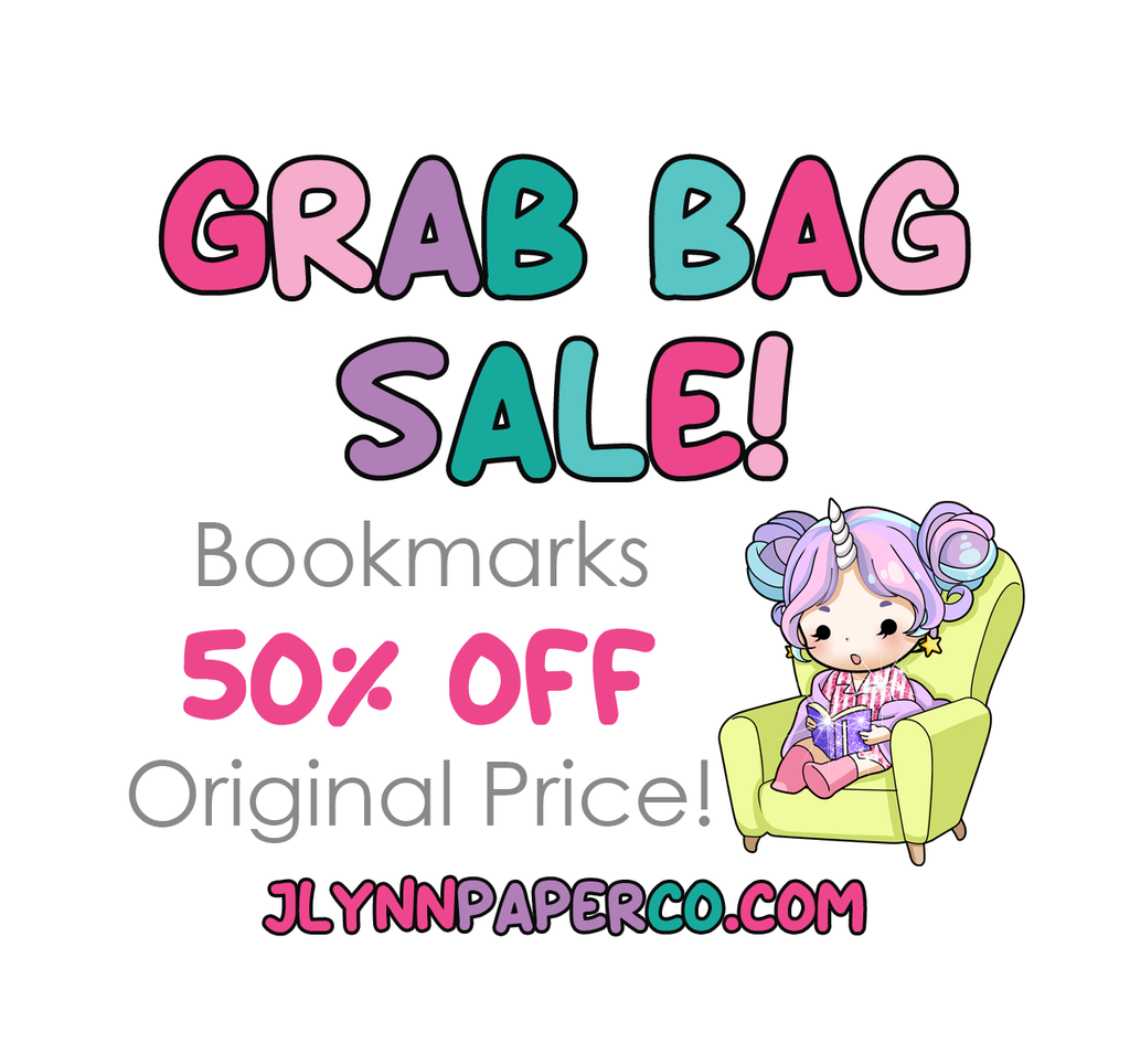 Magnetic Bookmark Grab bag
