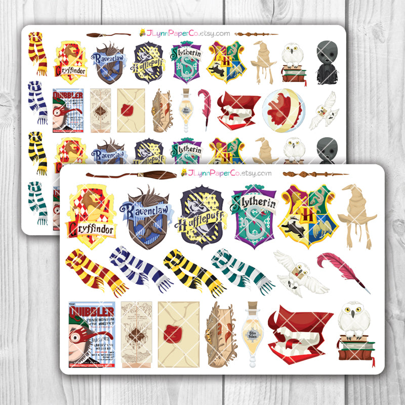 Wizard Objects Stickers
