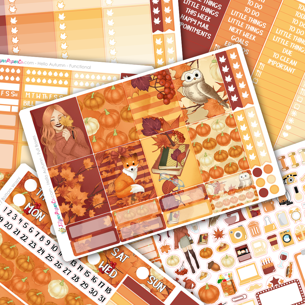 Hello Autumn WEEKLY Kit