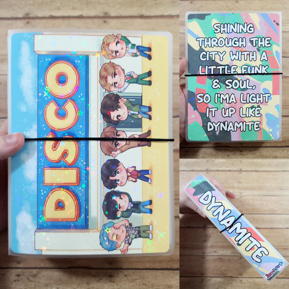 Dynamite Chibi Sticker Album