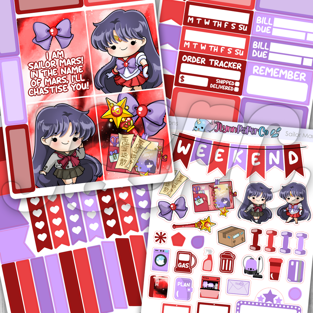 Sailor Mars Mini Kit