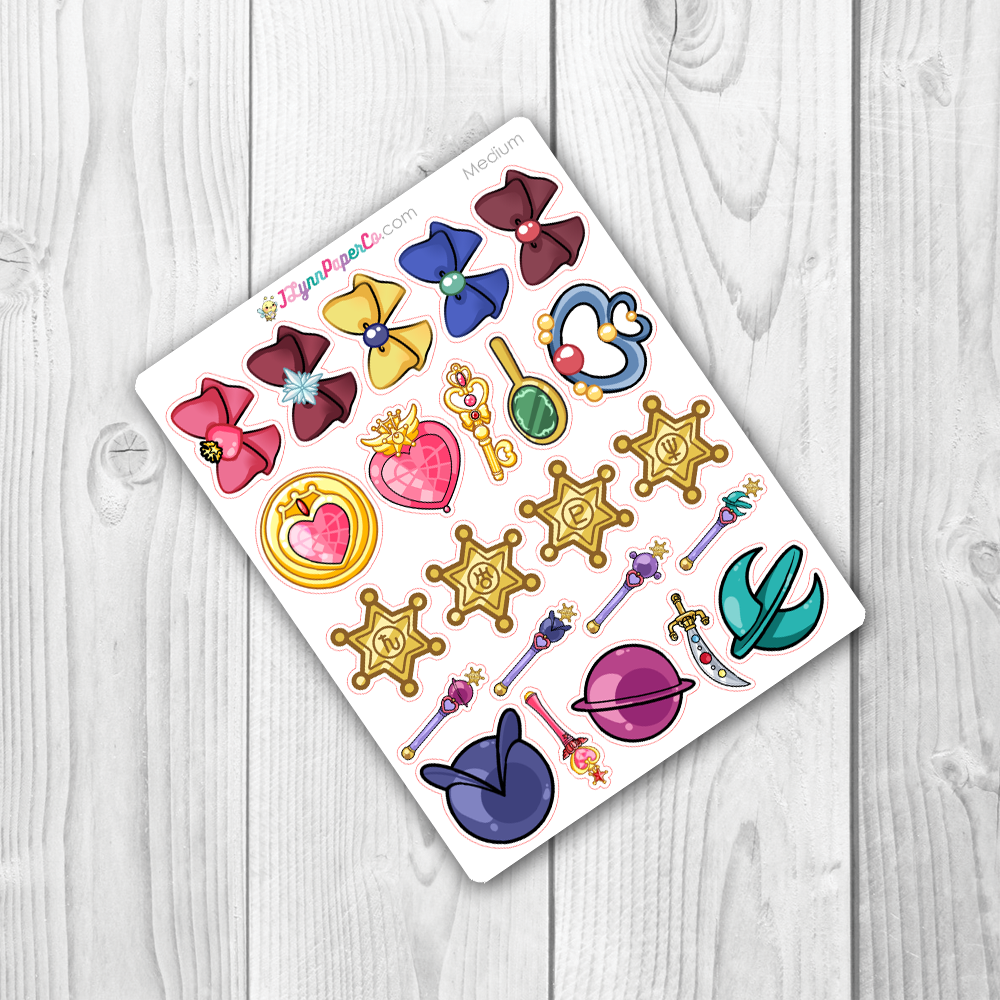 Sailor Moon Objects V2 Stickers