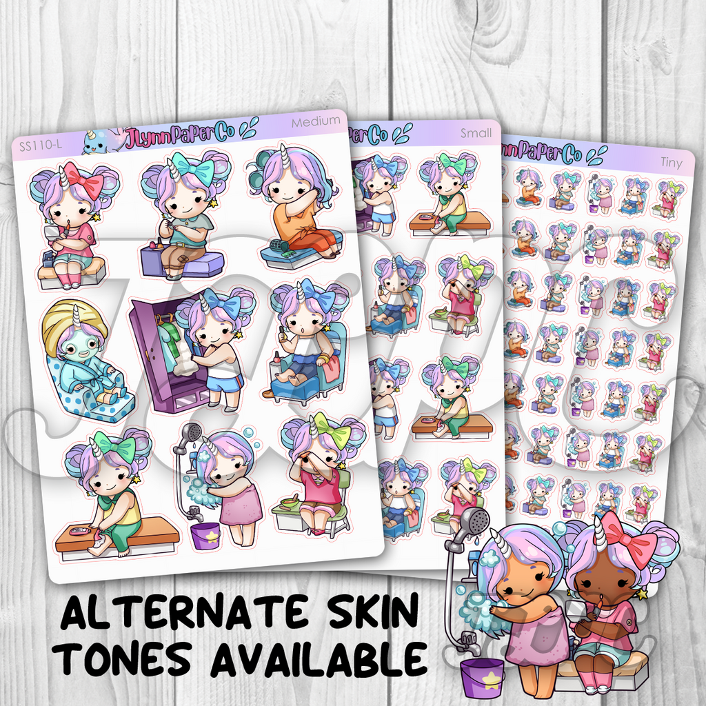 Starshine Beauty Character Stickers | SS110