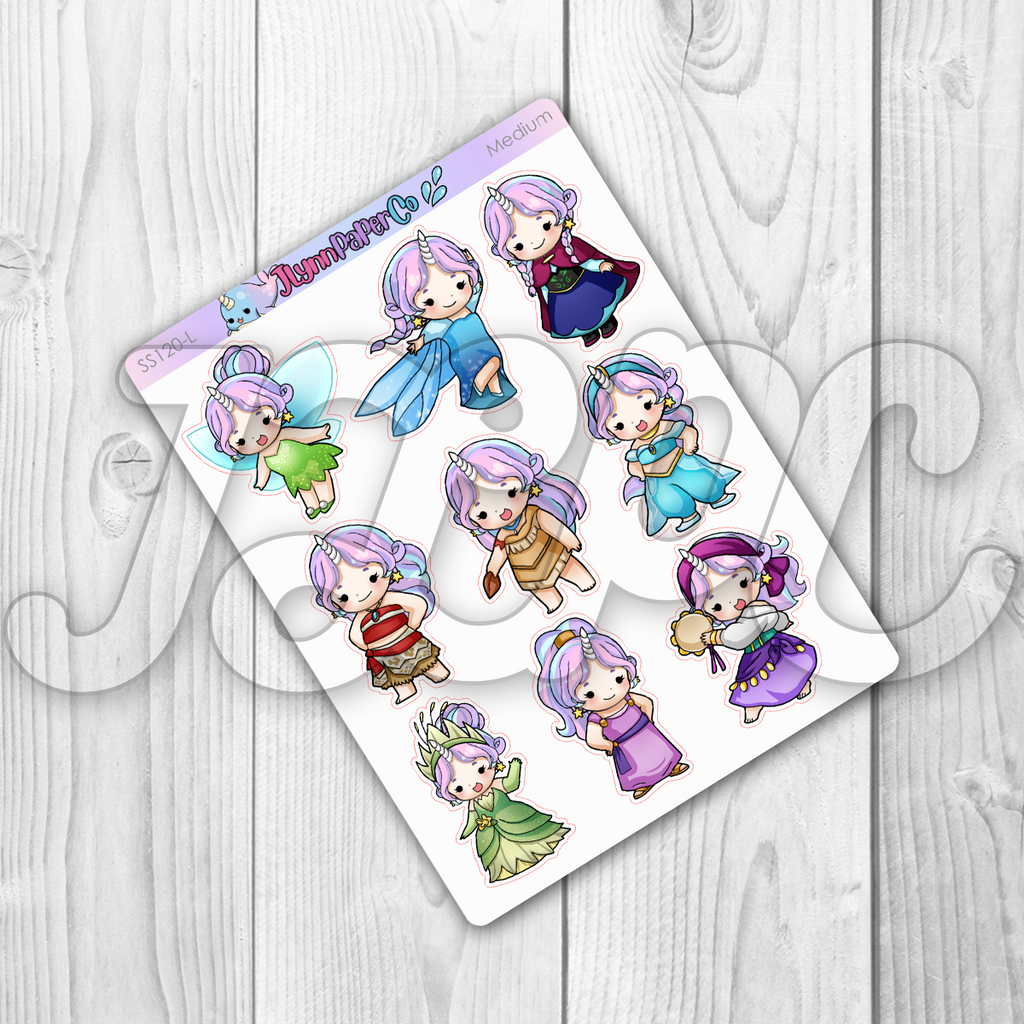 Starshine Princess Vol. 2 Character Stickers | SS120