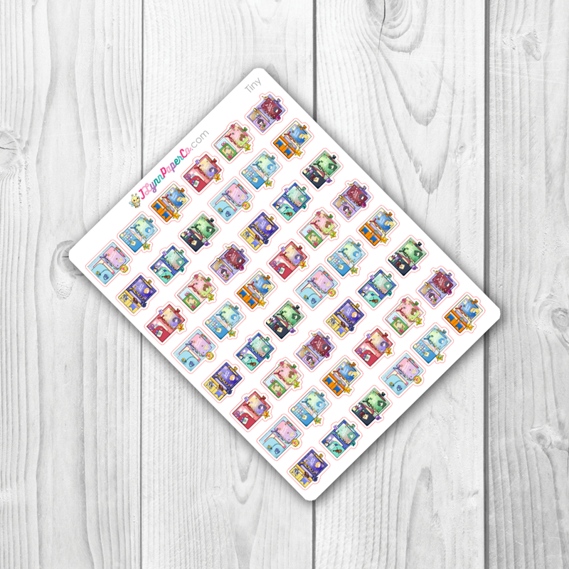 Variety Sailor Moon Planner Stickers