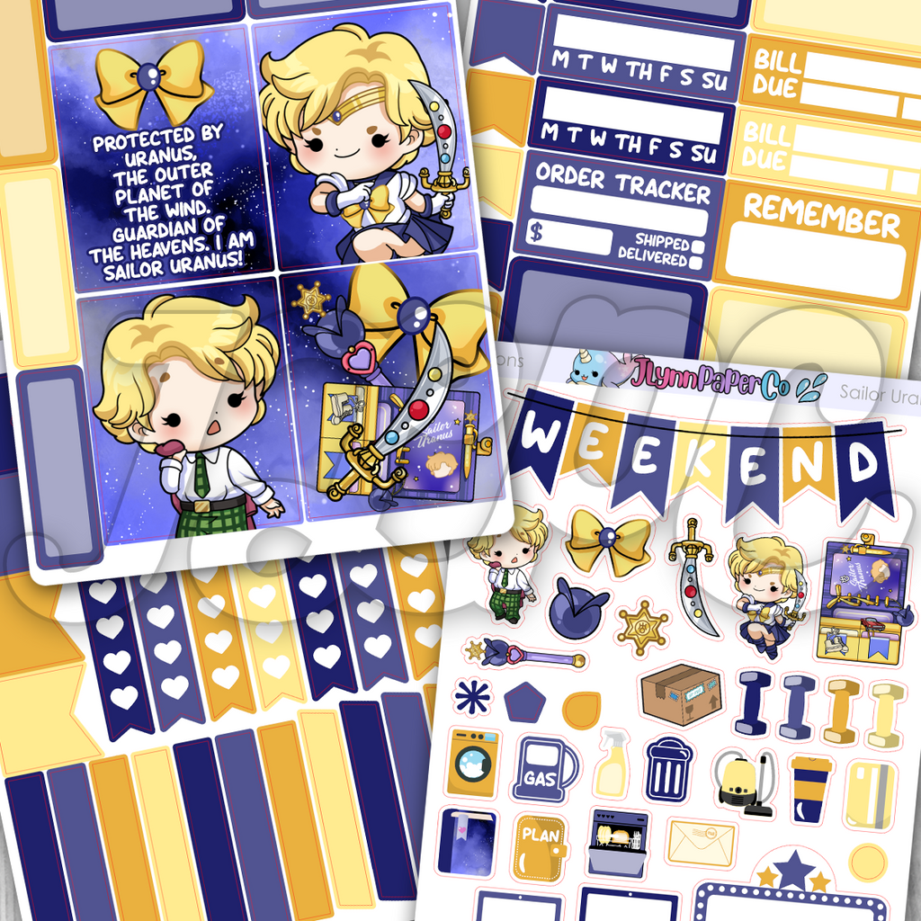Sailor Uranus Mini Kit