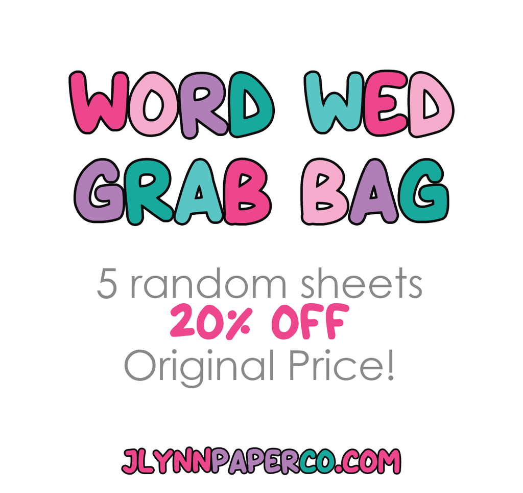 Word Wednesday Grab Bag