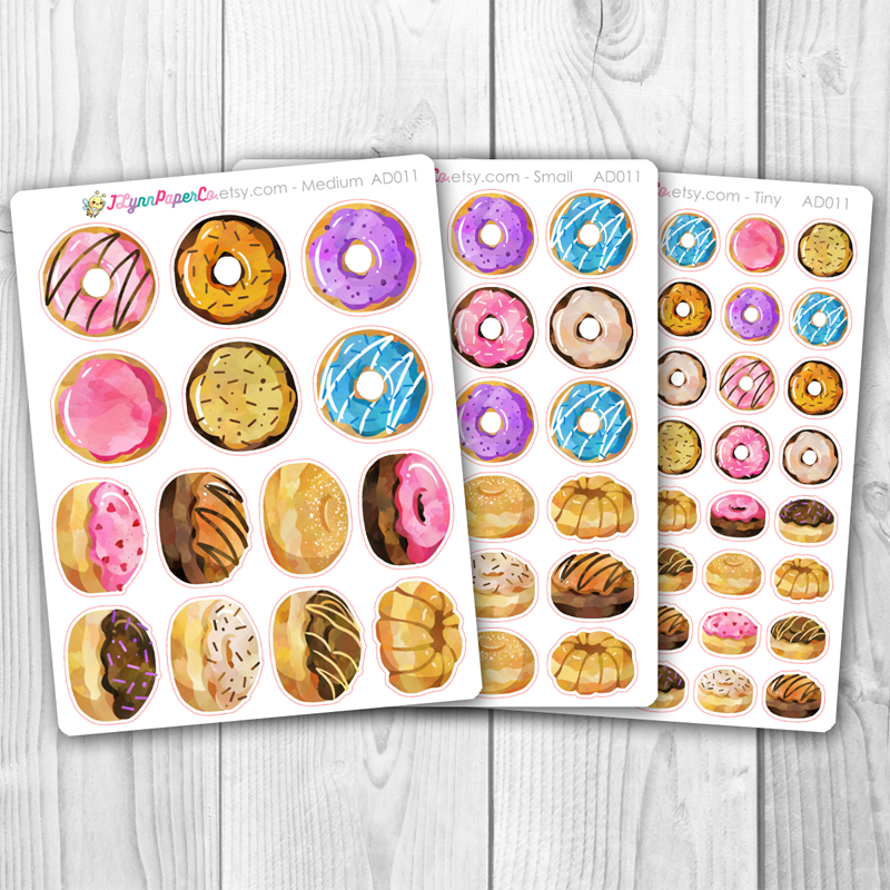 Donut Stickers | AD011