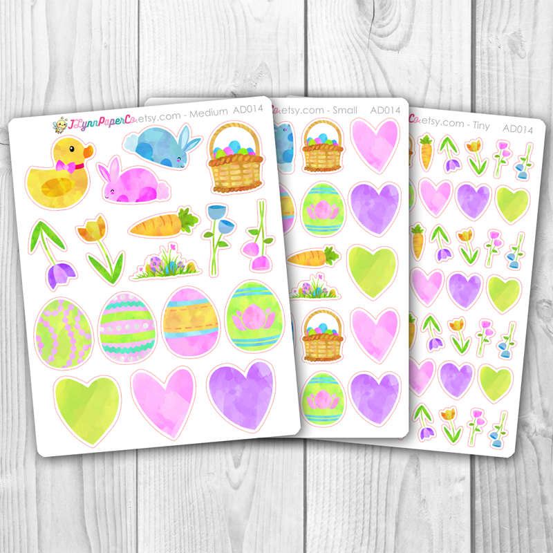 Easter Deco Stickers | AD014