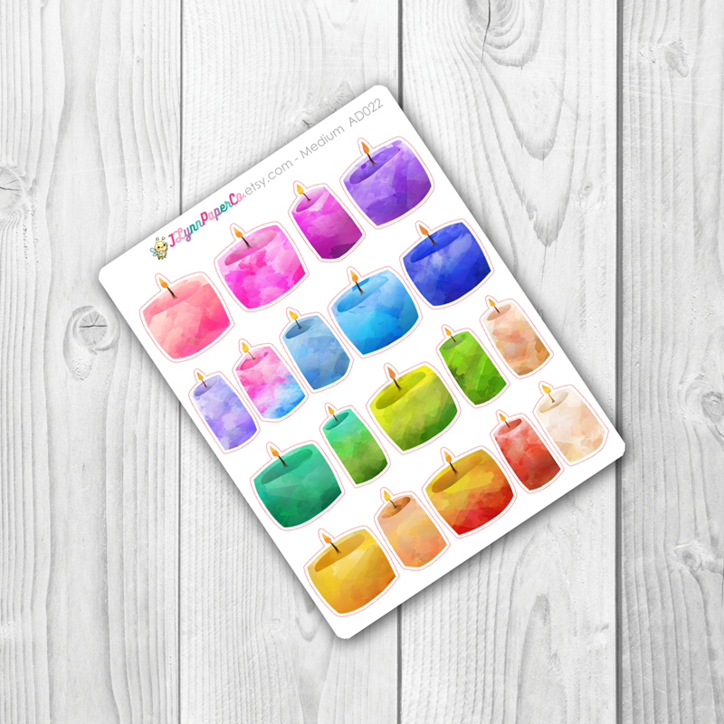 Candle Stickers | AD022