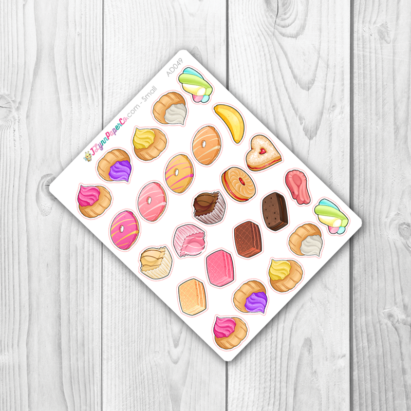 Yummy Treat Stickers | AD049