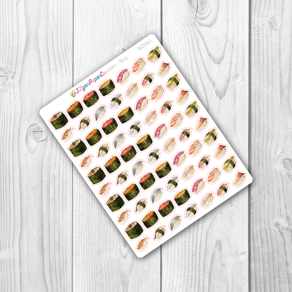 Sushi Deco Stickers | AD061