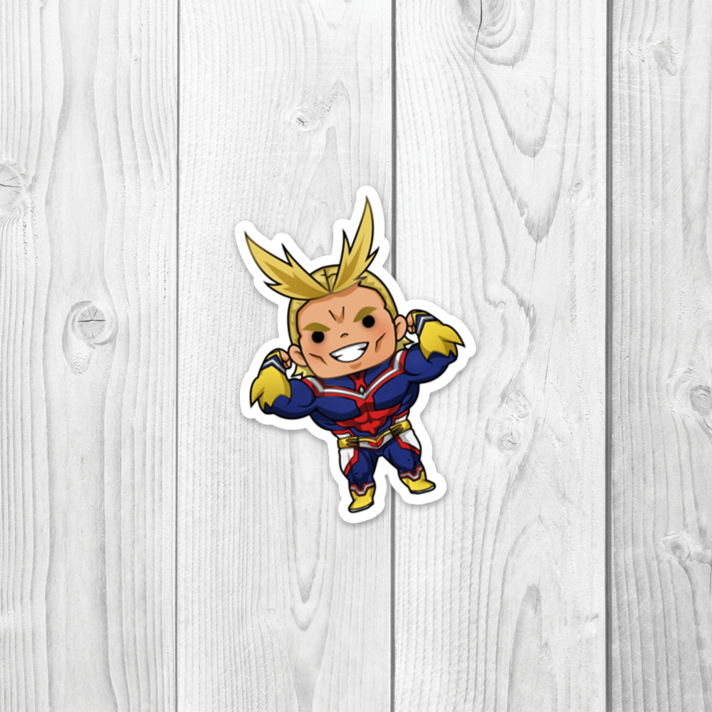 MHA Allmight Vinyl Decal