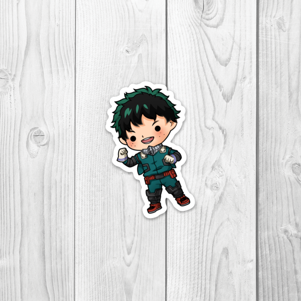 MHA Deku Vinyl Decal
