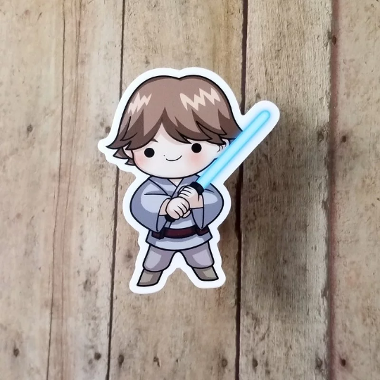 Luke Vinyl Decal