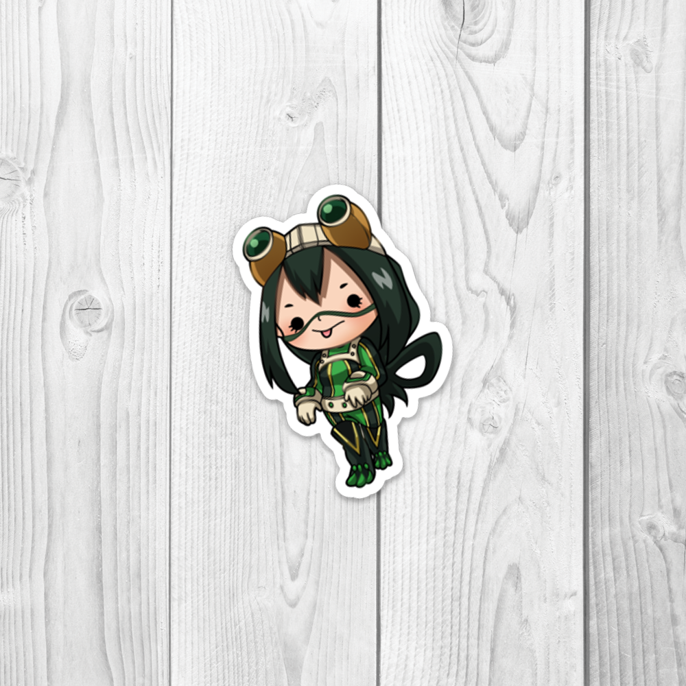 MHA Froppy Vinyl Decal