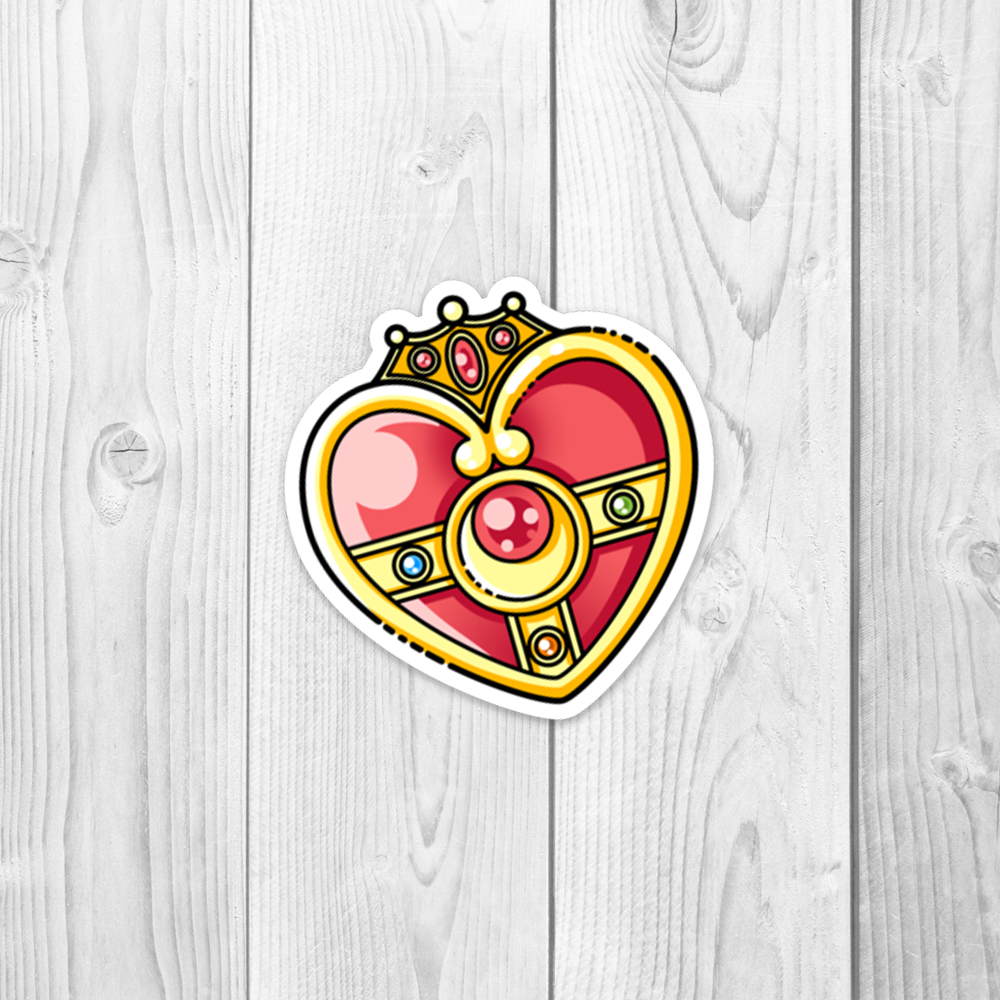Sailor Moon Cosmic Heart Vinyl Decal