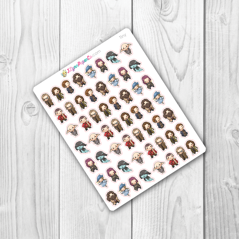 Wizards set 2 Character Stickers