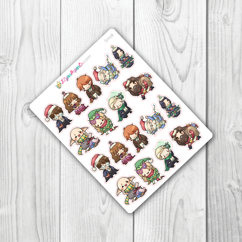 Wizards set 6 Character Stickers